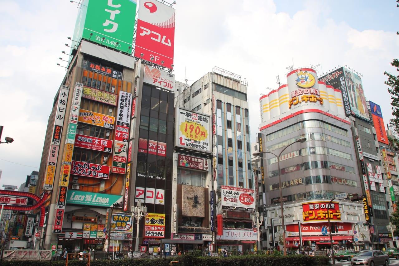歌舞伎町のドン・キホーテ